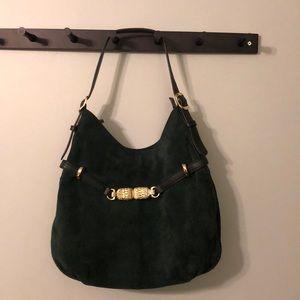 Talbots Leather Suede Shoulder Bag